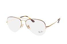 ray-ban-rx-6589-2945-large-aviator-brillen-goldfarben