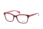 Ray-Ban RX 5362 5778 Pink / Red perspective view thumbnail