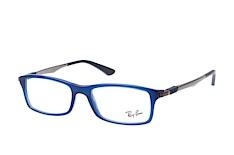 Ray-Ban RX 7017 5752, inkl. Gläser, Rechteckige Brille, Herren - Preisvergleich