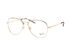 ray-ban-rx-6413-2500-large-aviator-brillen-goldfarben