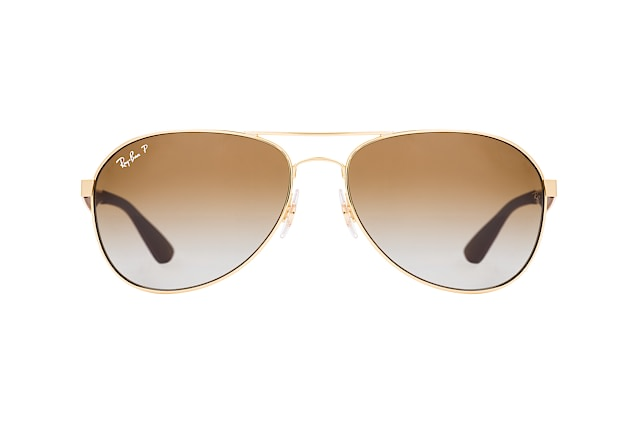 Ray-Ban RB 3549 001/T5 large vista en perspectiva