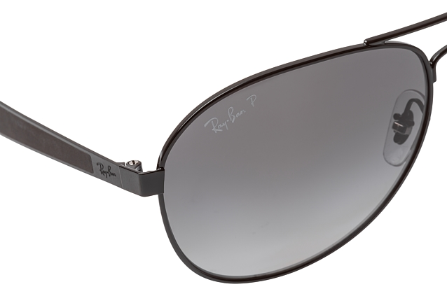 Ray-Ban RB 3549 002/T3 small vista en perspectiva
