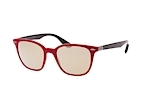 Ray-Ban RB 4297 6332/88 Rojo / Negro / Marrón perspective view thumbnail