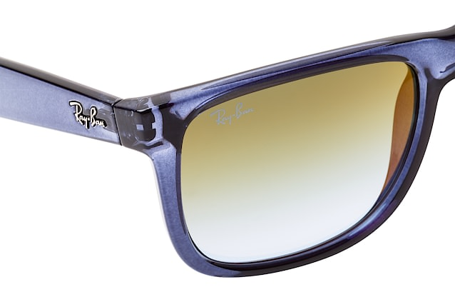 Ray-Ban Justin RB 4165 6341/T0 large vista en perspectiva