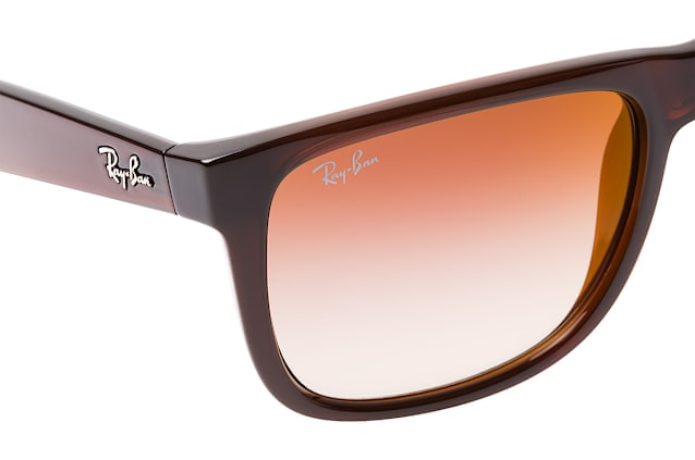 Ray-Ban Justin RB 4165 714/S0 large vista en perspectiva