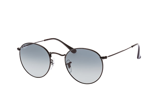 Ray-Ban Round Metal RB 3447N 002/71 S vista en perspectiva