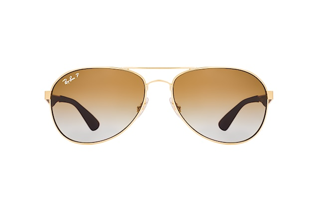 Ray-Ban RB 3549 001/T5 small vista en perspectiva