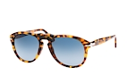 Persol PO 649 24/51 Havana / Polarised blue perspective view thumbnail