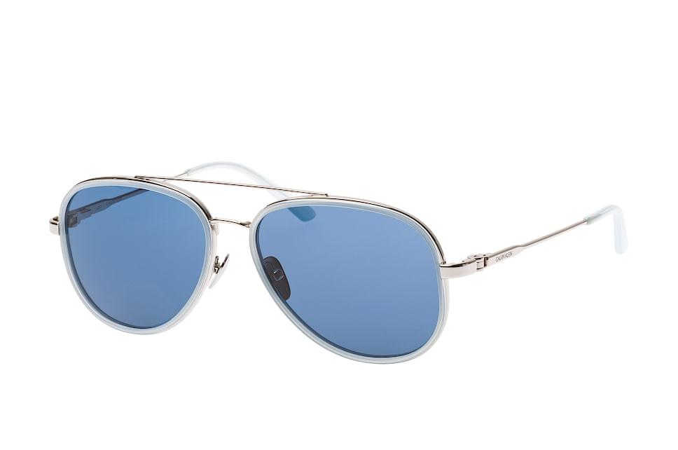 CK 18103S 450, Aviator Sonnenbrillen, Hellblau