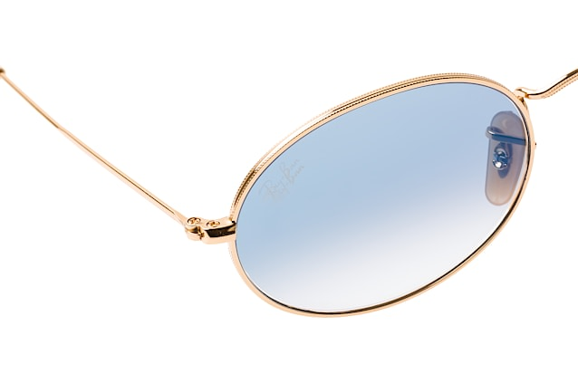 Ray-Ban Oval RB 3547N 001/3F large perspective view