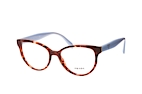 Prada PR 01UV 2AU1O1 Havana / Pink / Light grey perspective view thumbnail