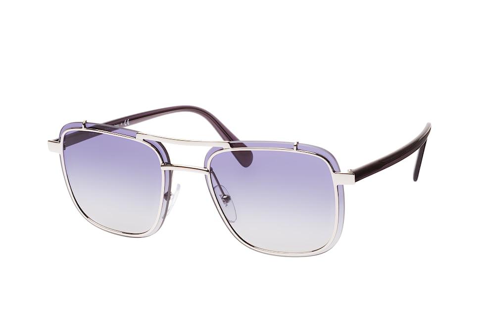 PR 59Us 1Bc-8Z1, Aviator Sonnenbrillen, Silber