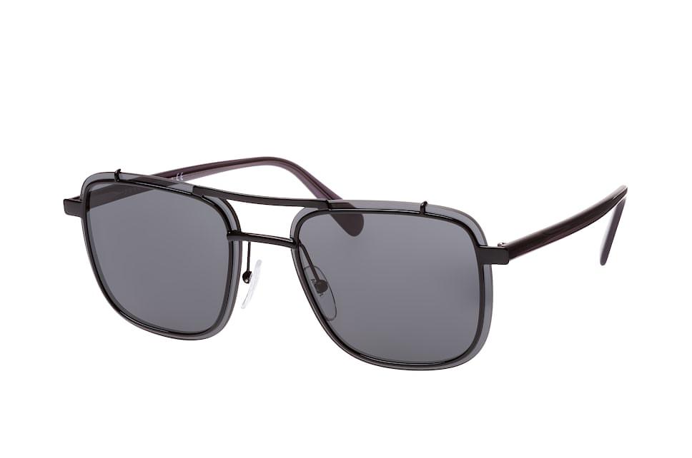 PR 59Us 1Ab-5S0, Aviator Sonnenbrillen, Schwarz