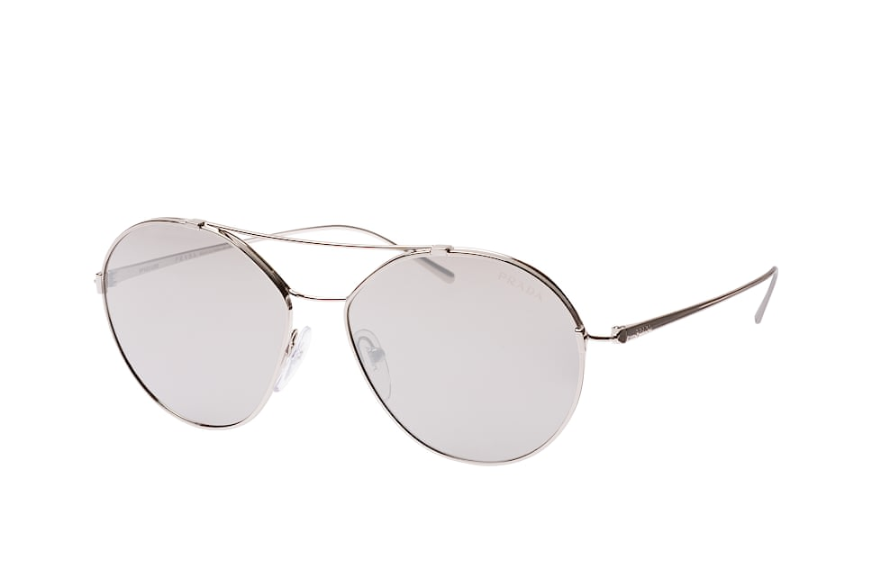 PR 56Us 1Bc-2B0, Aviator Sonnenbrillen, Silber