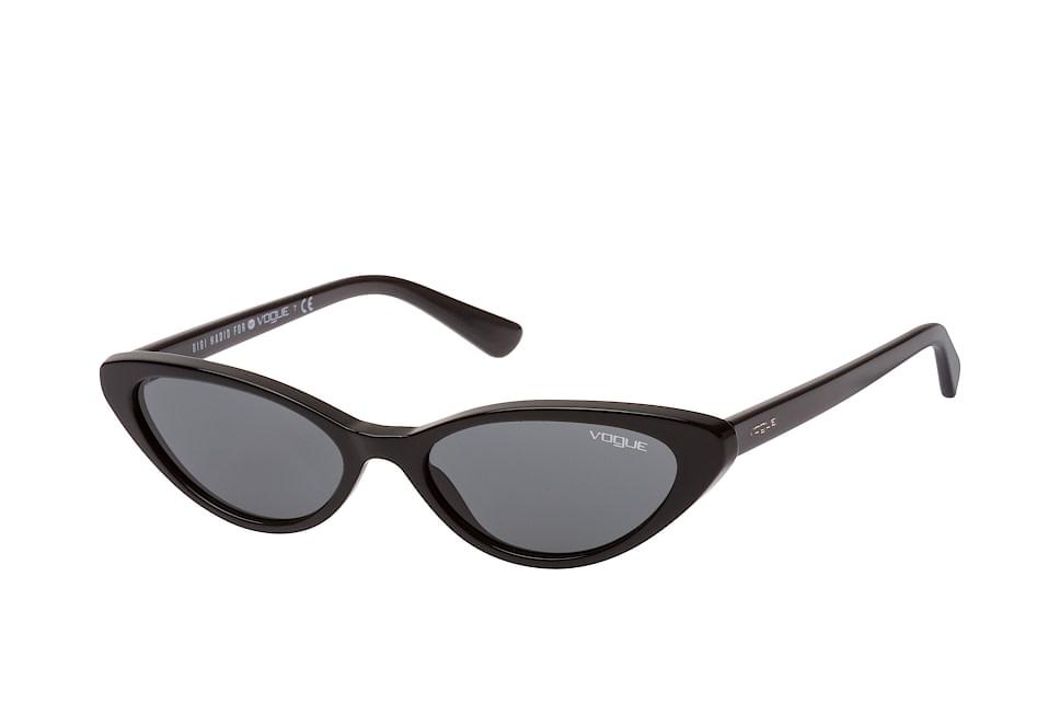 vogue eyewear -  VO 5237S W44/87, Butterfly Sonnenbrillen, Schwarz