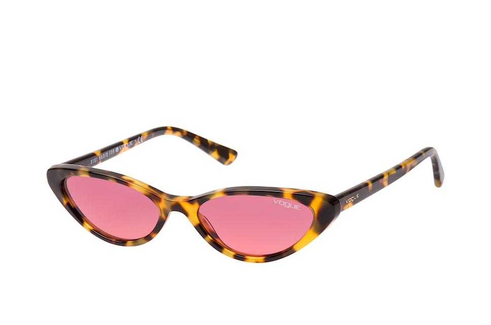 vogue eyewear -  VO 5237S 260520, Butterfly Sonnenbrillen, Havana