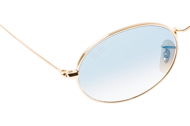 Ray-Ban Oval RB 3547N 001/3F vista en perspectiva