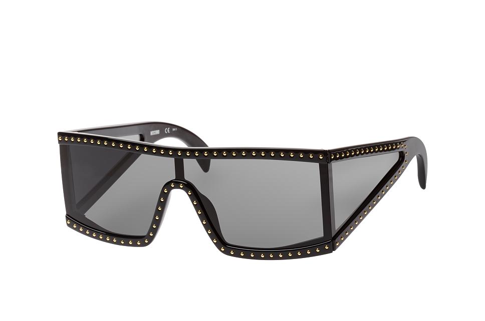 moschino -  MOS 004/s 08A.ir, Singlelens Sonnenbrillen, Schwarz