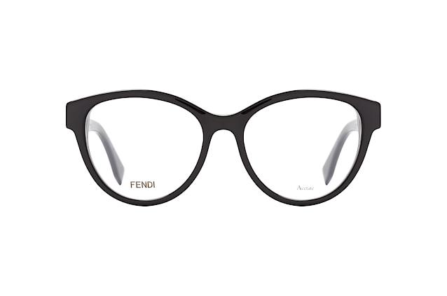 FENDI Fendi Damen Brille » FF 0249«, schwarz, 807 - schwarz
