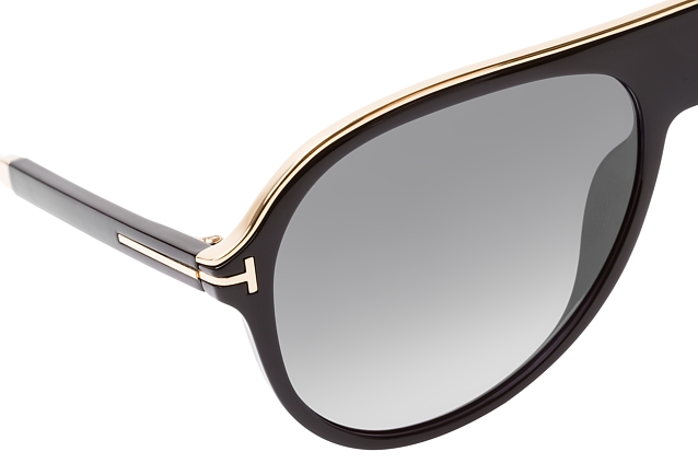 Tom Ford Nicholai-02 FT 0624/S 01C vista en perspectiva