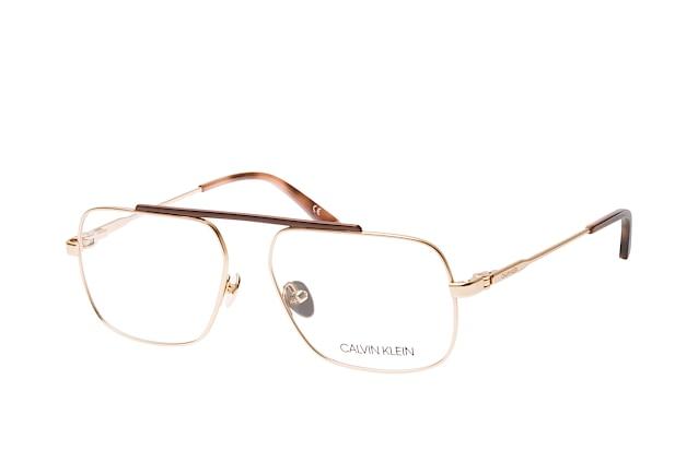 Calvin Klein Herren Brille » CK18106«, goldfarben, 717 - gold
