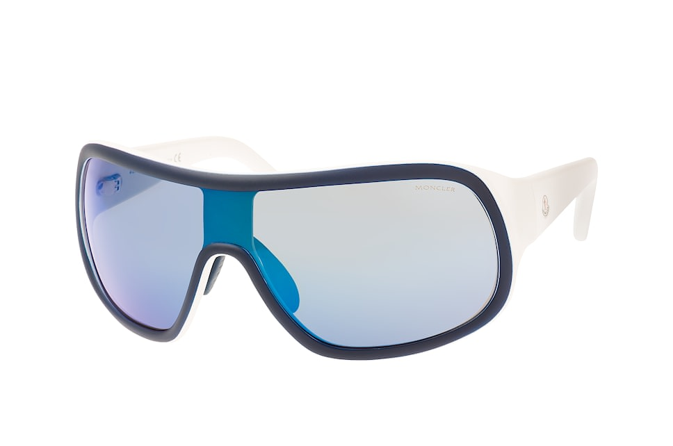 Moncler ML 0048/s 92X, Singlelens Sonnenbrillen, Blau