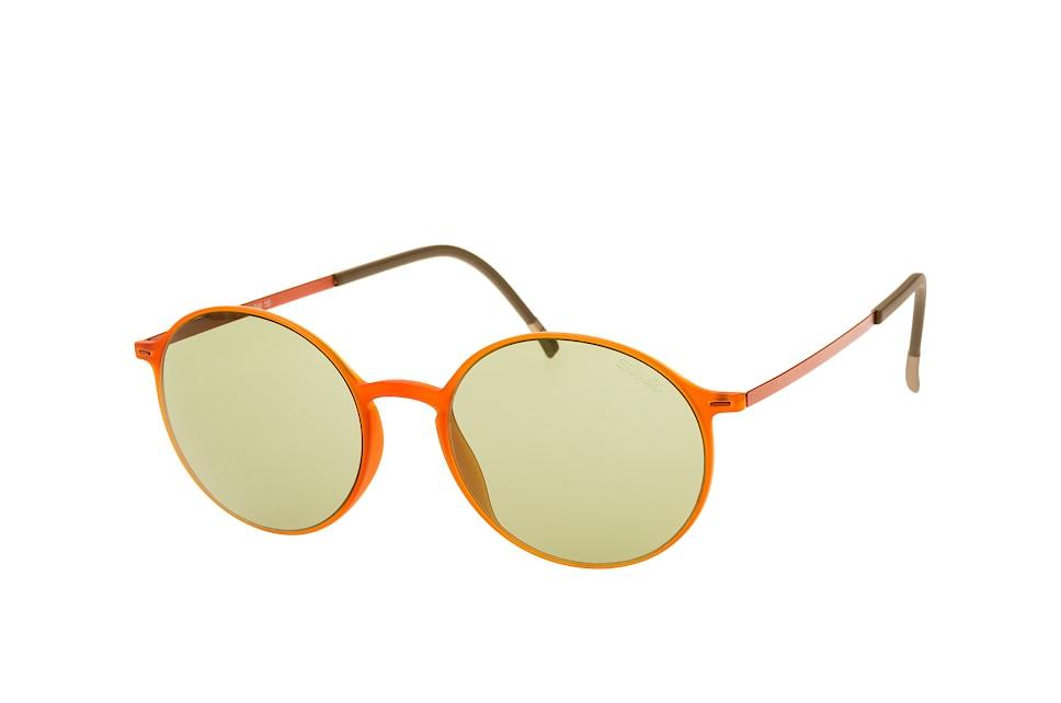 4075 75 2540, Round Sonnenbrillen, Orange
