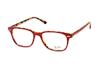 Ray-Ban RX 7119 5713 small Havana / Rood perspective view thumbnail