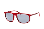 Emporio Armani EA 4118 5690/6G Red / Grey perspective view thumbnail