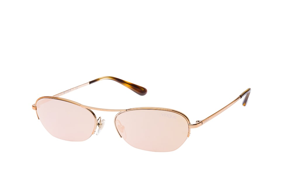 vogue eyewear -  VO 4107S 50754Z, Rectangle Sonnenbrillen, Goldfarben