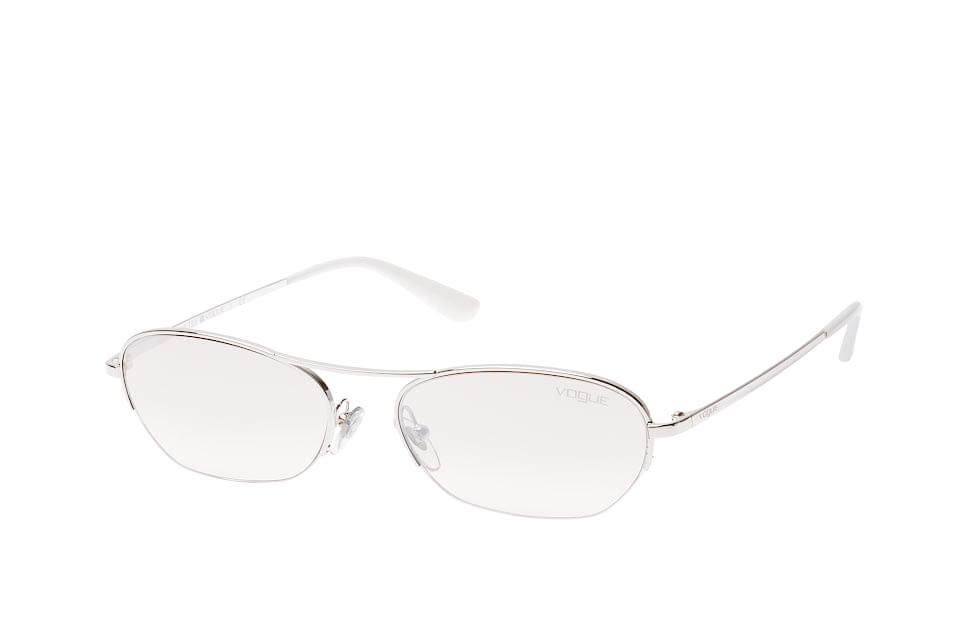 vogue eyewear -  VO 4107S 323/8Z, Rectangle Sonnenbrillen, Silber