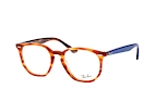 Ray-Ban RX 7151 5798 Havana / Blue perspective view thumbnail