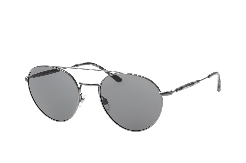 AR 6075 3003/87, Aviator Sonnenbrillen, Grau