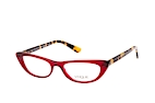 VOGUE Eyewear VO 5236B W656 Red / Havana perspective view thumbnail