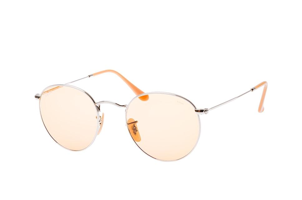 ray-ban -  Round Metal RB 3447 9065/V9, Runde Sonnenbrille, Unisex, in Sehstärke erhältlich