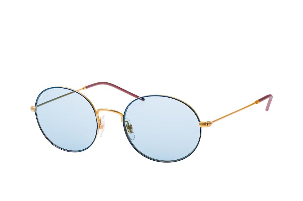 ray-ban -  RB 3594 9113/f7, Round Sonnenbrillen, Blau