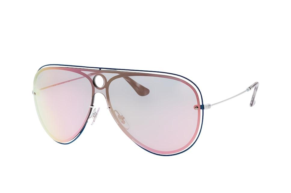 RB 3605N 9100/4Z, Singlelens Sonnenbrillen, Blau
