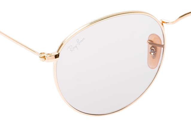 Ray-Ban Round Metal RB 3447 9064/V8 L perspective view