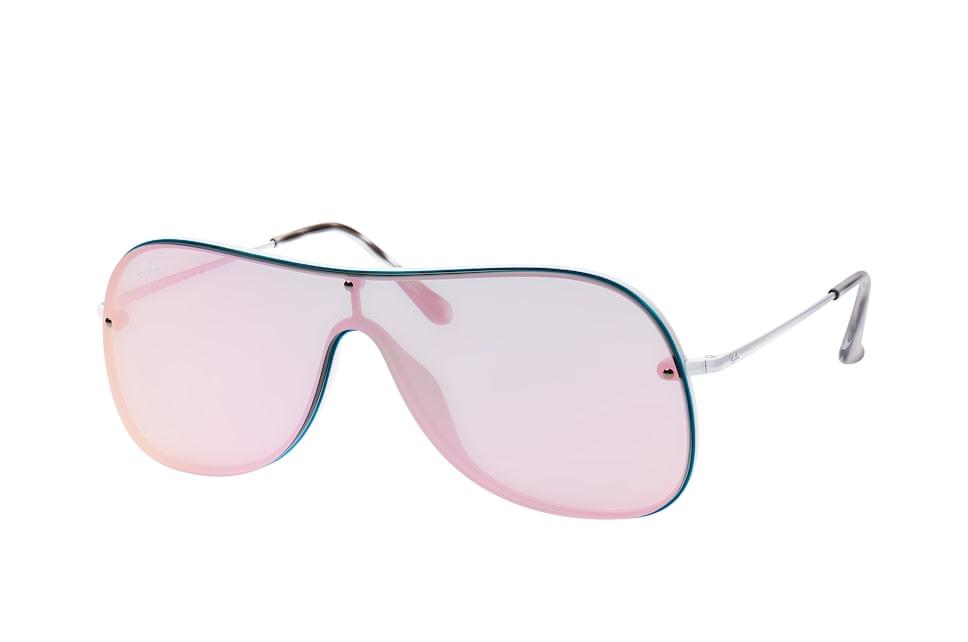 RB 4311N 6362/4Z, Singlelens Sonnenbrillen, Blau