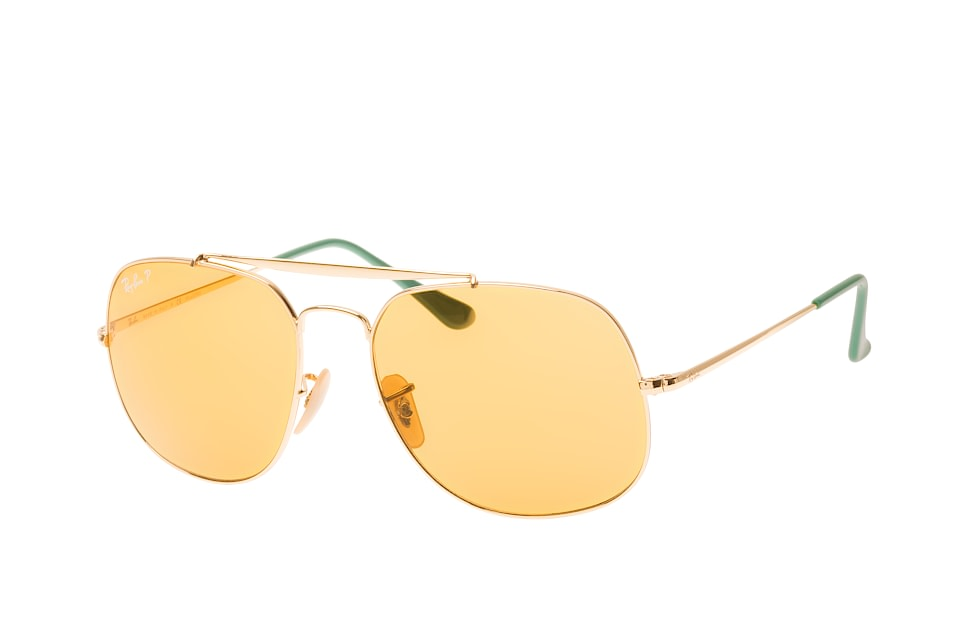 ray-ban -  General RB 3561 9105N9, Aviator Sonnenbrillen, Goldfarben