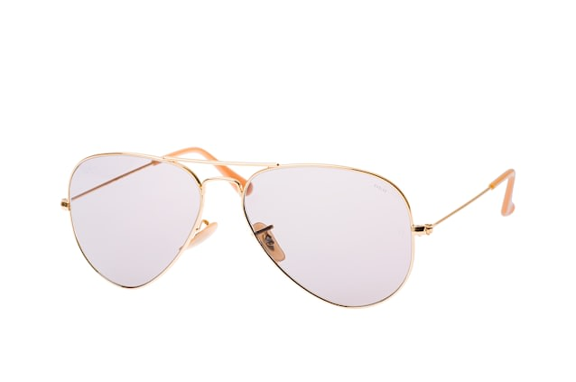 Ray-Ban Aviator RB 3025 9064/V8 vista en perspectiva