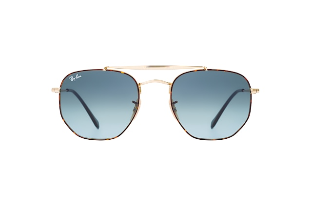 Ray-Ban The Marshal RB 3648 91023M L vue en perpective