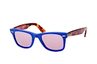 Ray-Ban Wayfarer Denim RB 2140 1167/S5 Blue / Havana / Purple perspective view thumbnail
