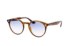 Ray-Ban RB 2180 601/71 large Havana / Blauw gradiënt perspective view thumbnail