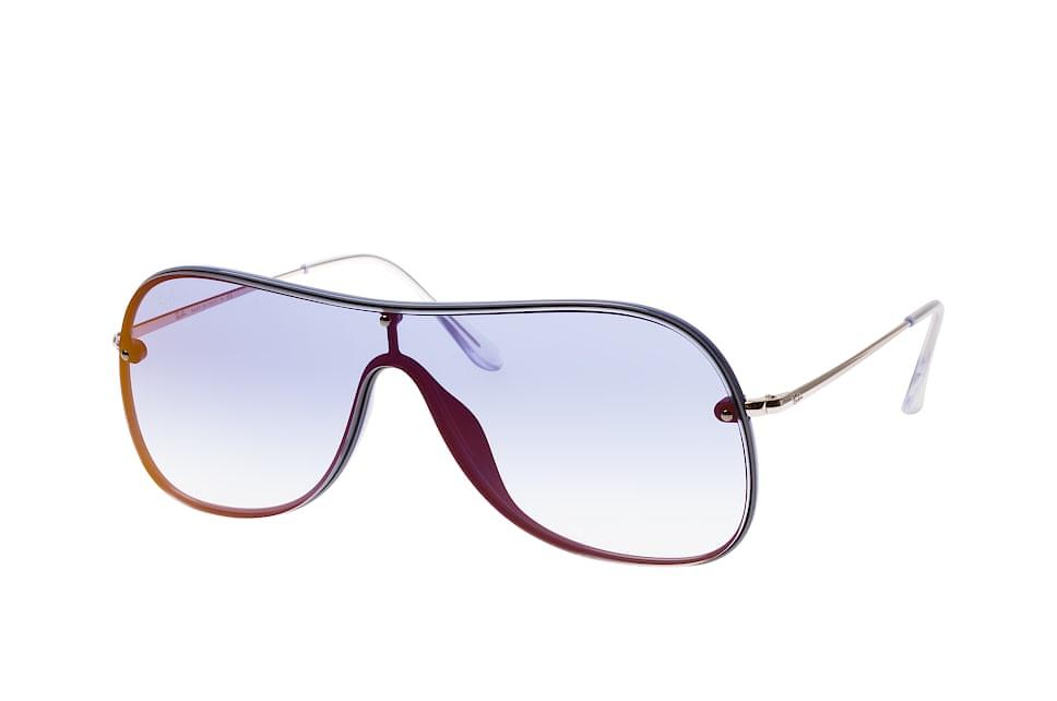 RB 4311N 6374/x0, Singlelens Sonnenbrillen, Blau