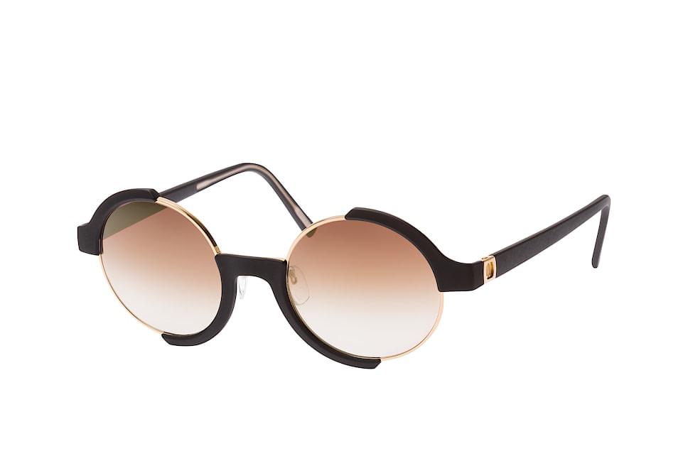 neubau eyewear -  Sigmund&Carl T617 75 9130, Round Sonnenbrillen, Goldfarben