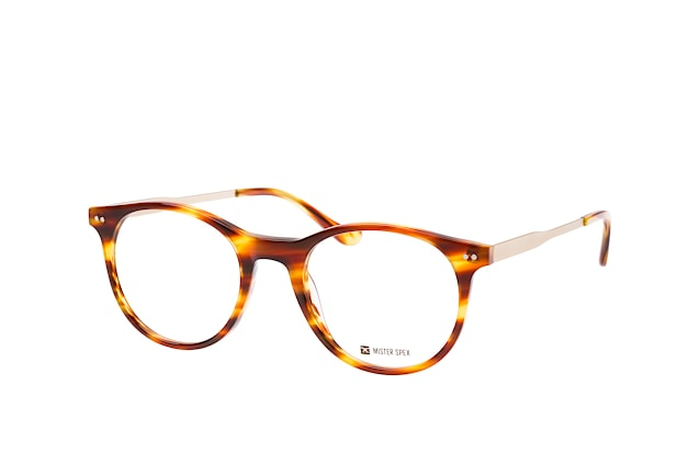 Mister Spex Collection Clash braun Perspektivenansicht