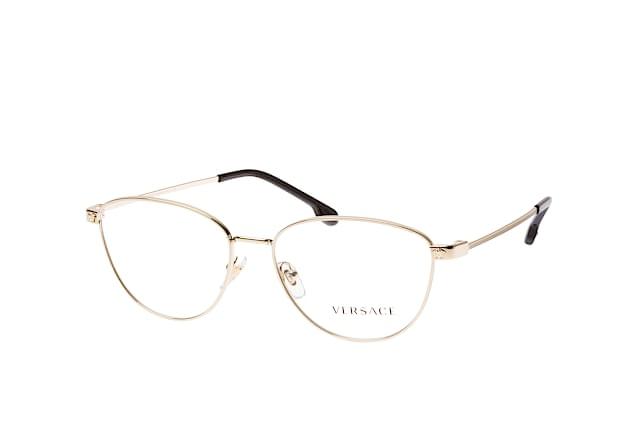 Versace VE1253 Eyeglass Frames 1252-54 Pale Gold VE1253-1252-54