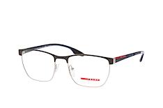 prada-linea-rossa-ps-50lv-tfz-1o1-square-brillen-grau