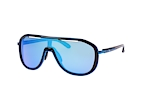 Oakley Outpace OO 4133 04 Blue / Black / Purple perspective view thumbnail